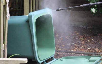 How to Jet Wash Your Epsom and Ewell Council Wheelie Bin