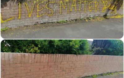 Graffiti Removal in Surrey