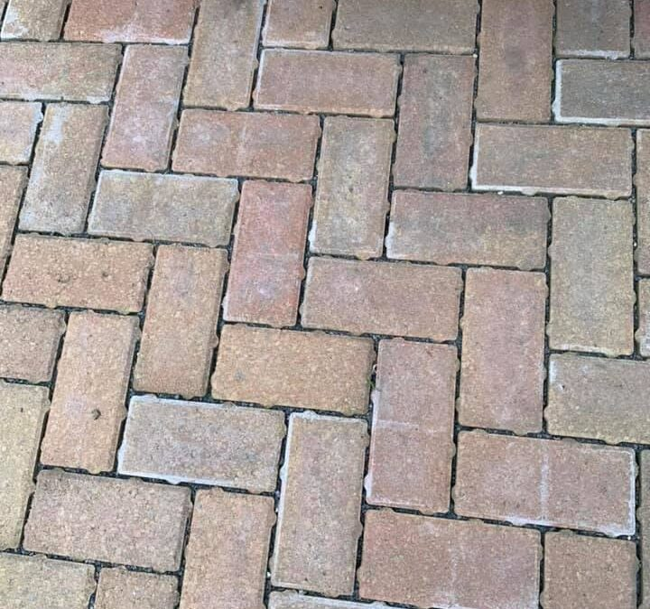 Re-jointing Permeable Suds Paving